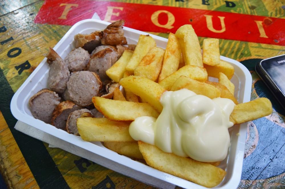 Bratwurst and Pomme- Cologne 2016.jpg
